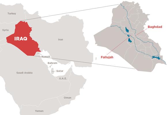 Iraq map