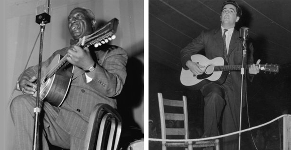 Lomax and Leadbelly